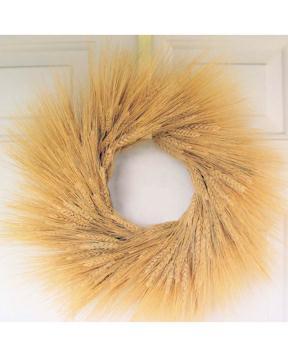 Natural Wheat Wreath