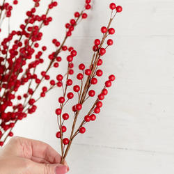 Red Artificial Berry Sprays