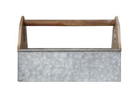 Wood & Metal Barn Caddy