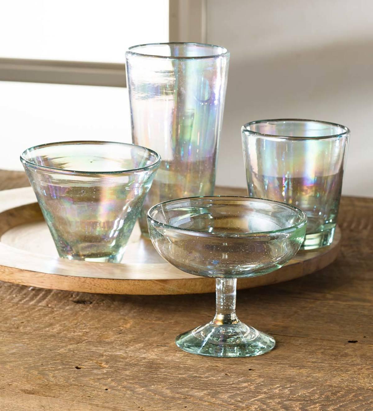Iridescent Glassware