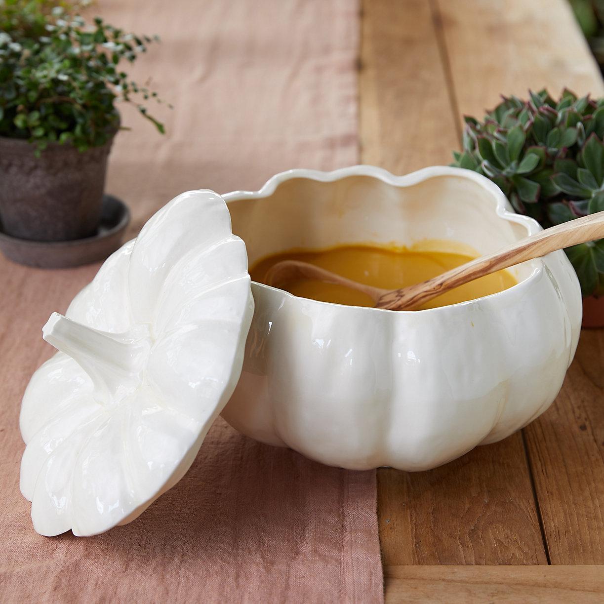 Pumpkin Soup Tureen