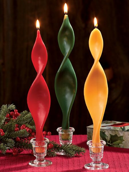 Angel Taper Candle