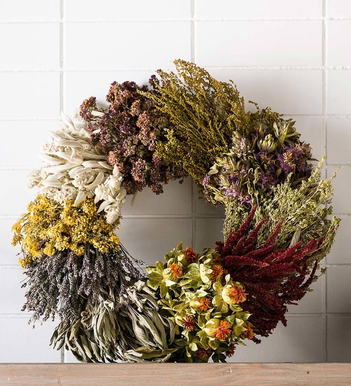 Fragrant Ten Herb Wreath