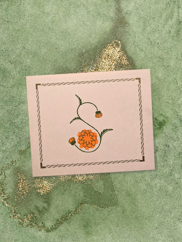 Saffron Marigold gift cards for Mother's Day