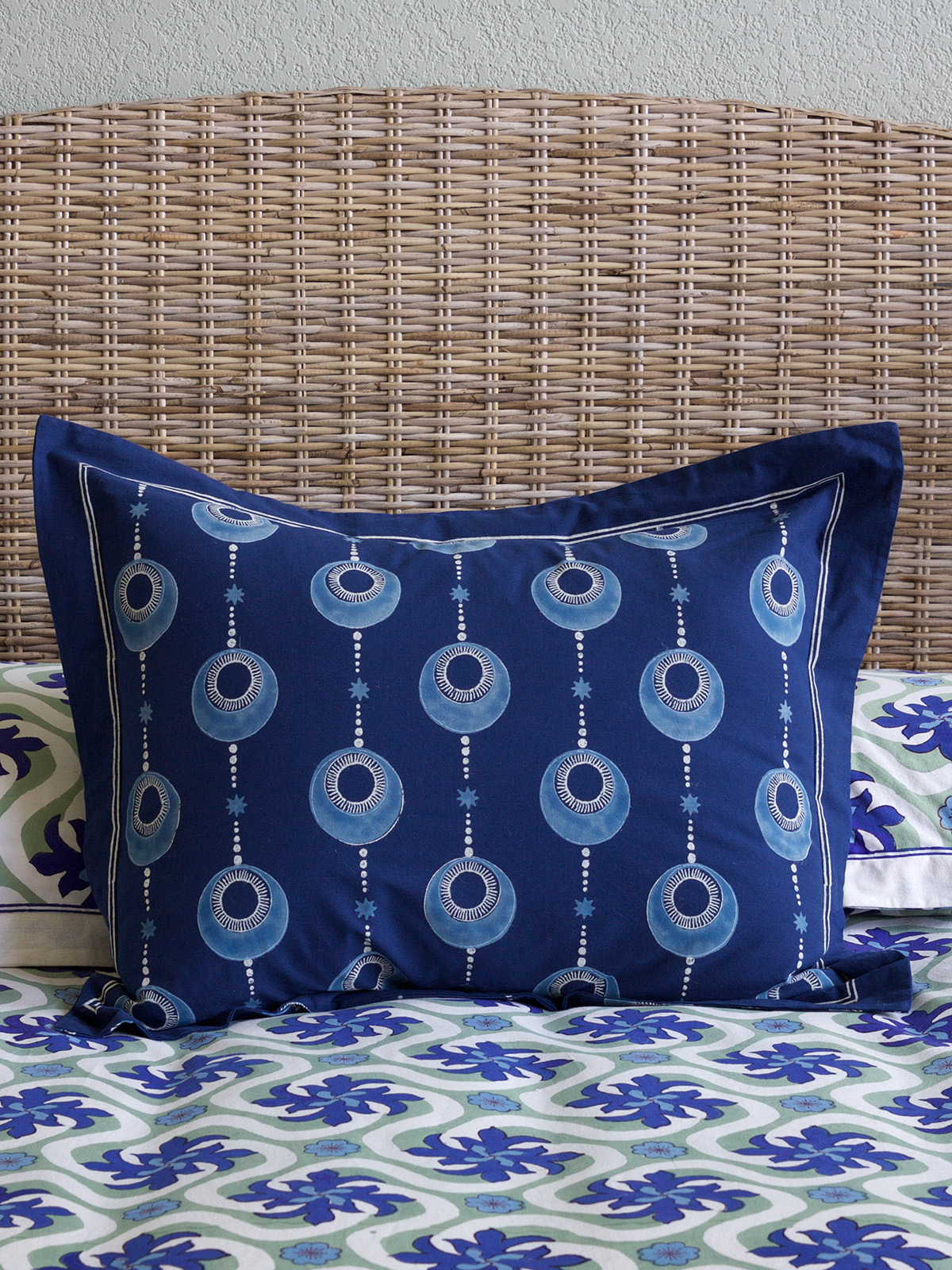 Celestial Embrace - Blue ~ Pillow Sham