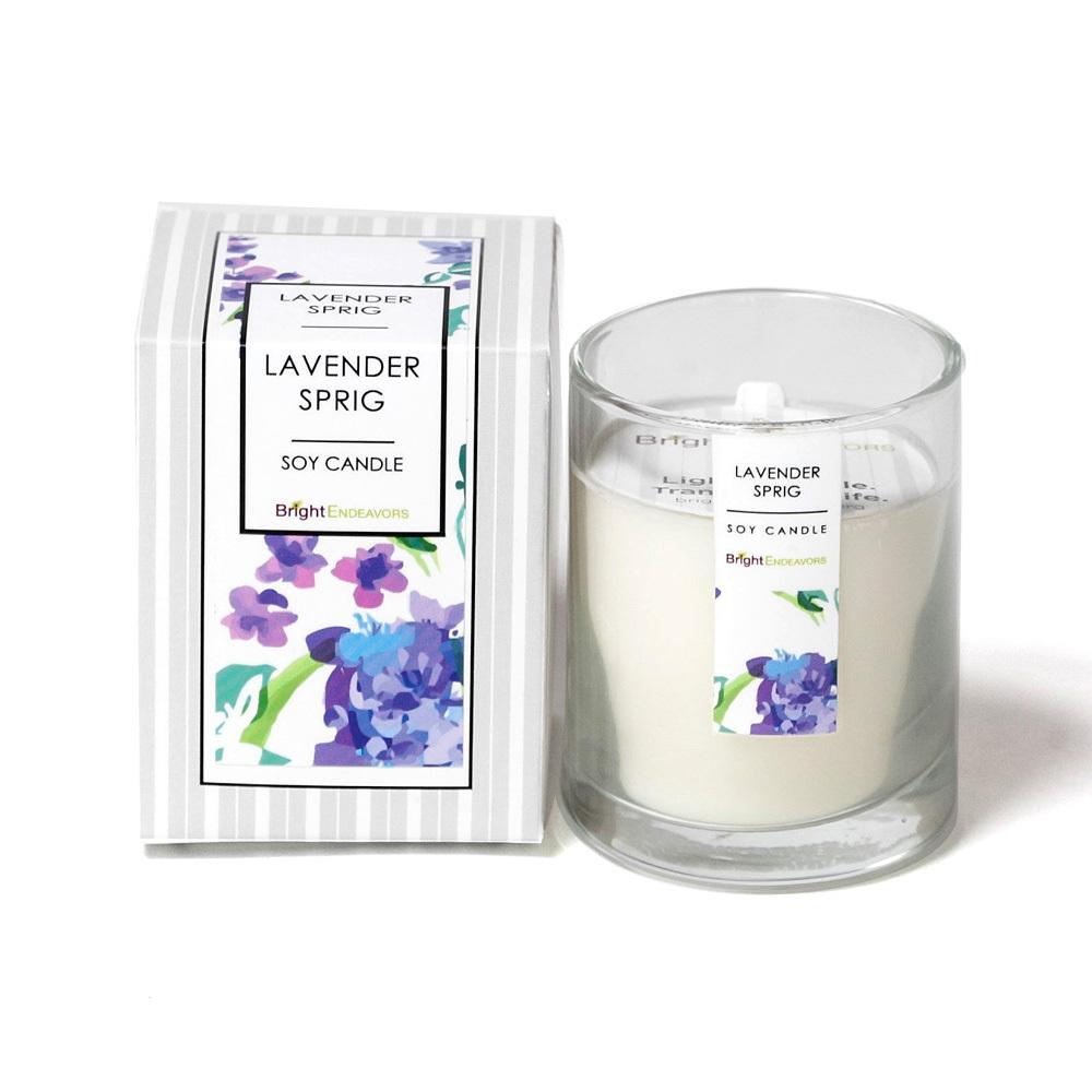 Lavender Sprig Candles