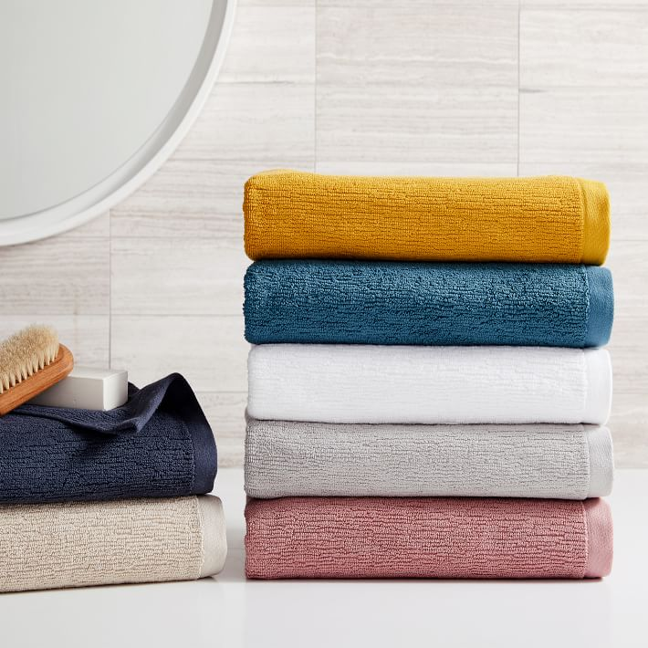 Organic Textured Towels
