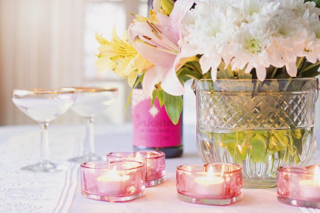 valentines day ideas Galentine's Day brunch mimosa brunch for valentine's day