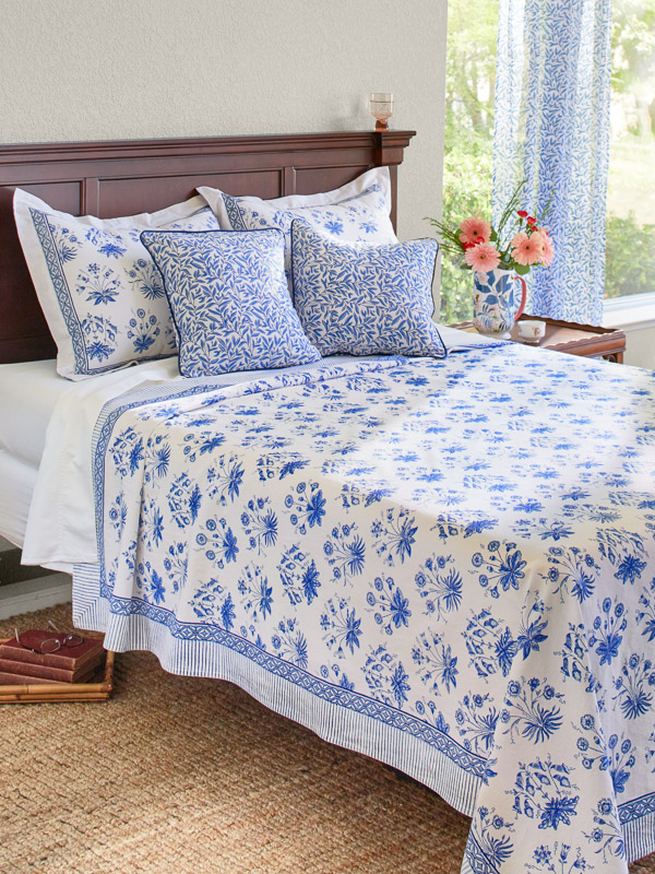 English Gardens ~ Bedspread