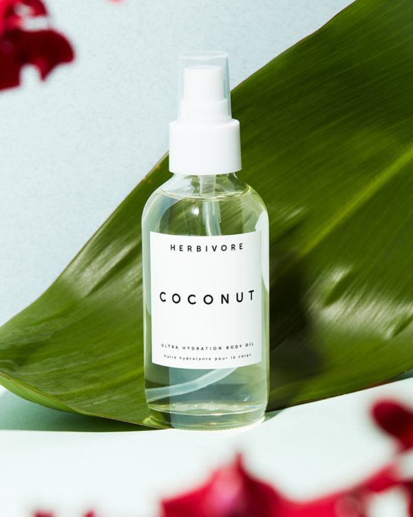 coconut body oil to include in spa gift baskets