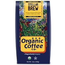 SF Bay co. organic coffee for breakfast