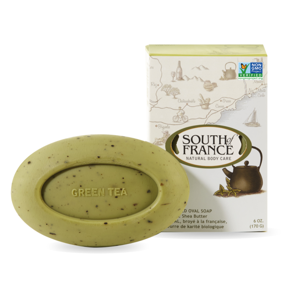 green tea soap for a zen home
