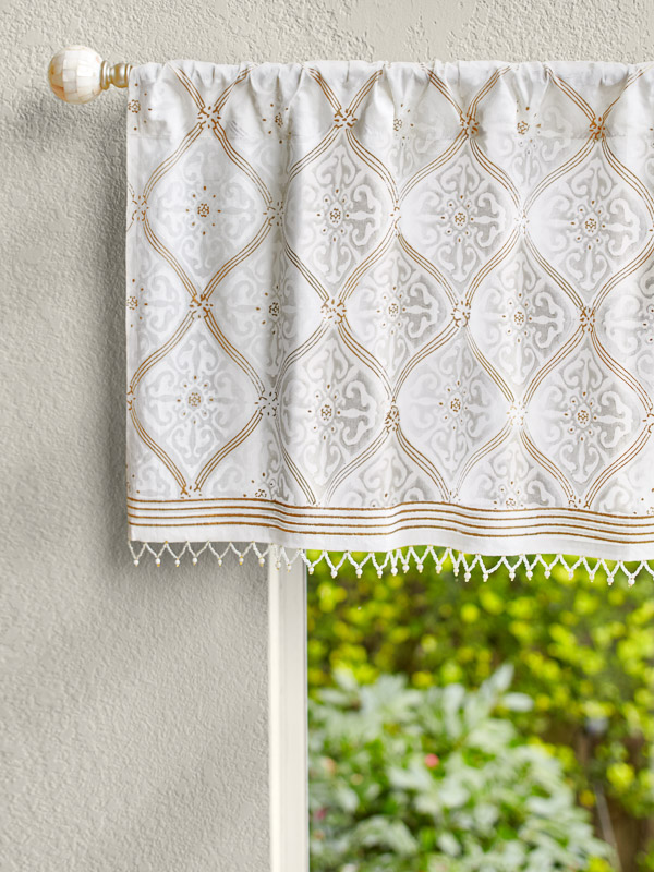 boho curtains ~ white and gold curtains ~ boho bedroom decor