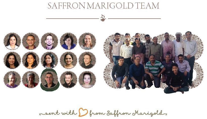Fair trade boutique creative, administrative, and artisan team