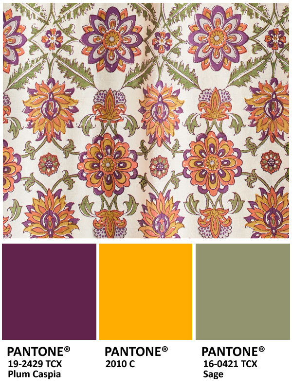 Plum, lemon, and sage for Thanksgiving colors