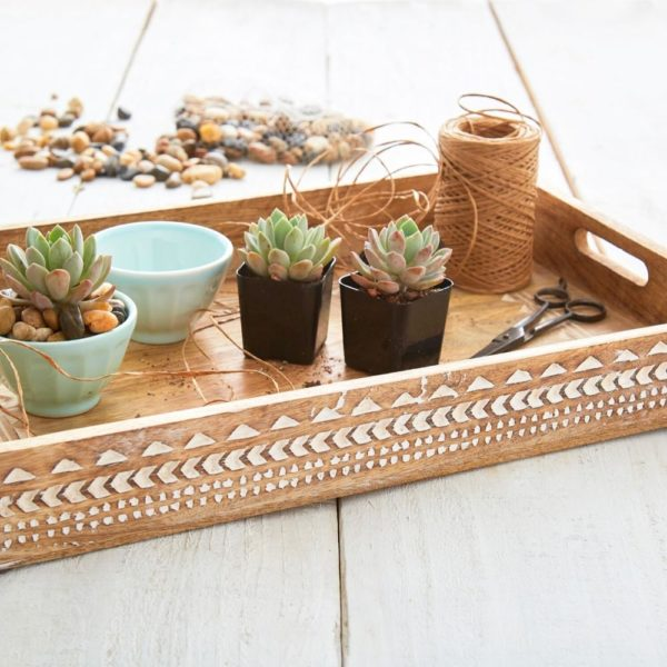 Serving trays make great gifts for the home