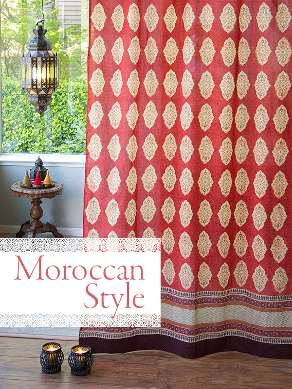 a guide to authentic Moroccan decor and Moroccan style for home interiors