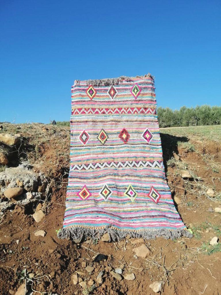Moroccan decor, fair trade Moroccan rug handmade