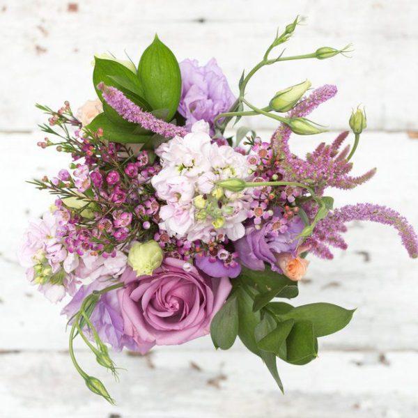 an orchid bouquet