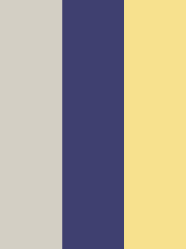 colors that go with yellow and grey: royal blue