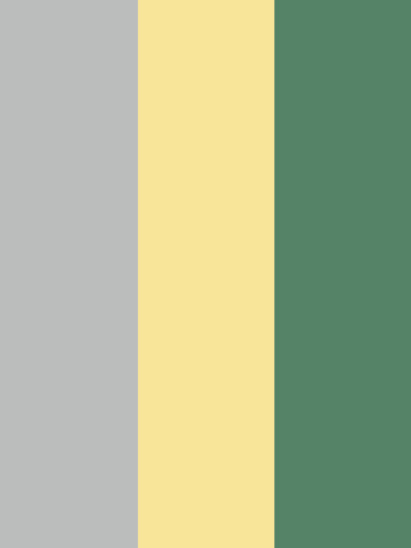 colors that go with yellow and grey: moss green
