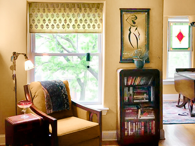 green sheer valances for living room