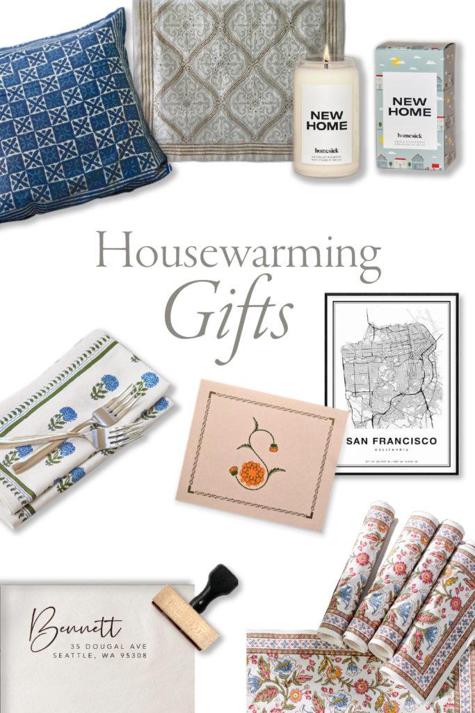 housewarming gifts collage