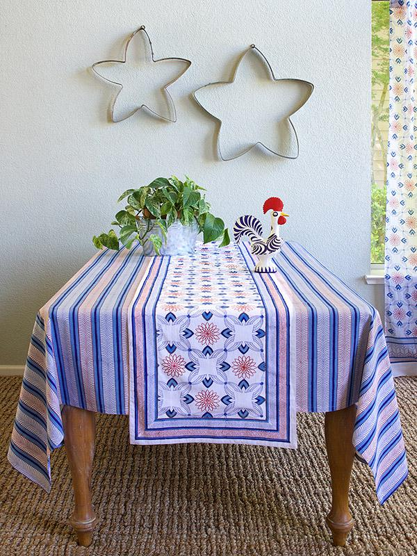 Le Chateau Tile French Country Farmhouse Rustic Table