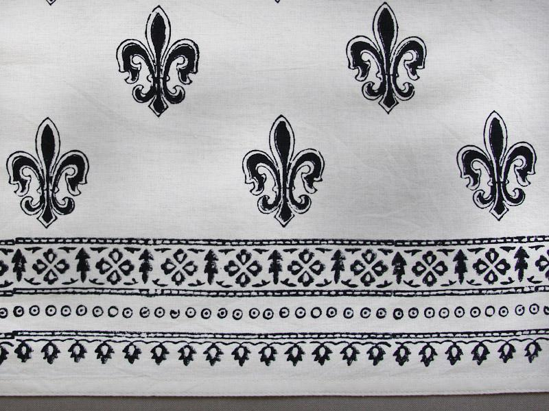 Black And White Dinner Napkins Hollywood Glamour Cloth