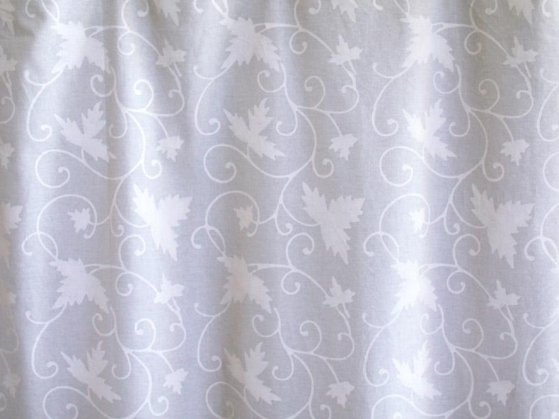 White Curtain Panel Floral Country Cottage Saffron