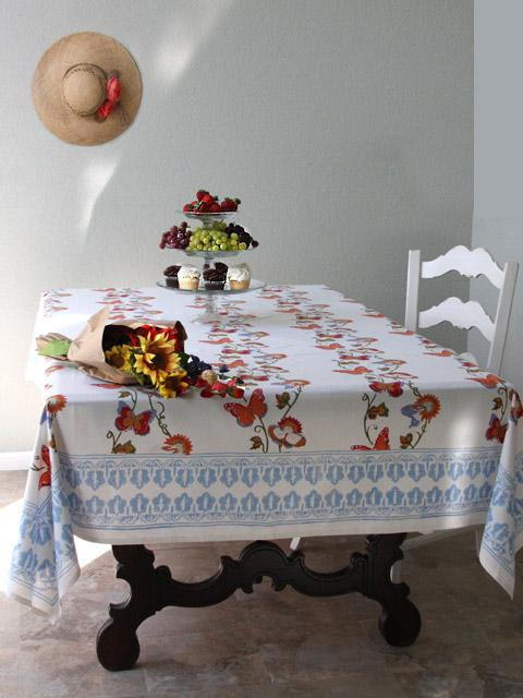 Indian Table Cloths Country Tablecloth Block Print