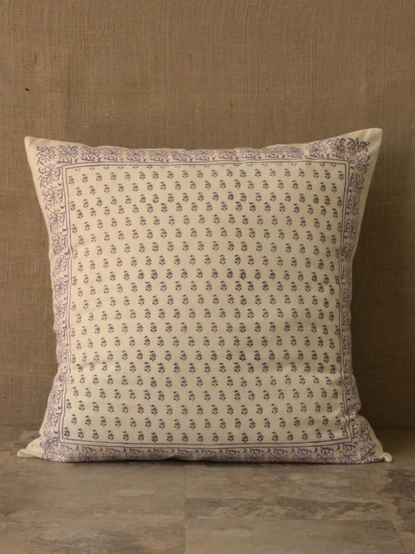 Lavender French Provence Country Cottage Style Euro Pillow