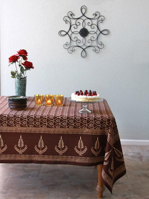 Chocolate Tablecloth, Dark Brown Tablecloth, Romantic Tablelcoth, Elegant  Tablecloth, Luxury Tablecl | Saffron Marigold