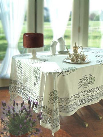 White Tablecloth, French Tablecloths, Country Tablecloth, Cotton Tablecloth  | Saffron Marigold
