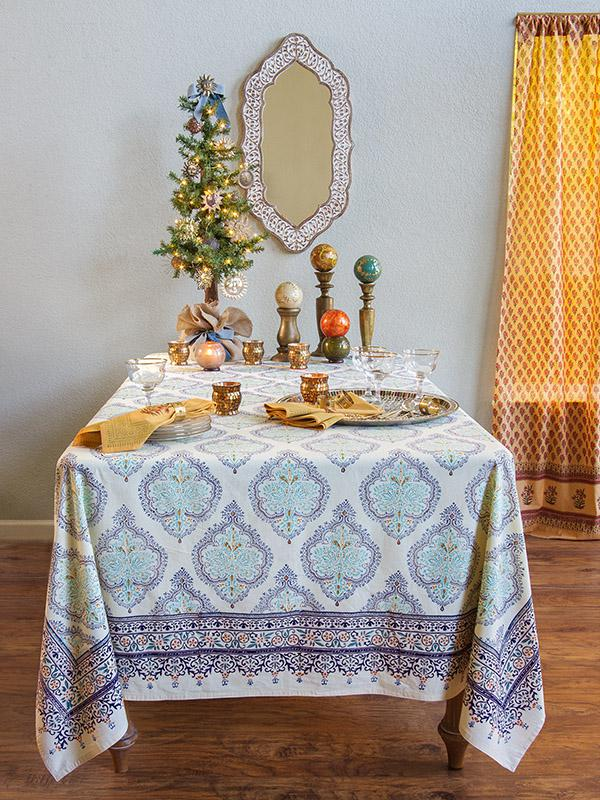 Yellow Tablecloth French Tablecloth Elegant Tablecloth