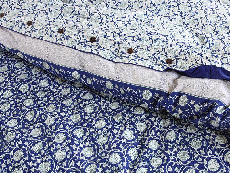 Blue Queen Duvet Cover Sweetgalas