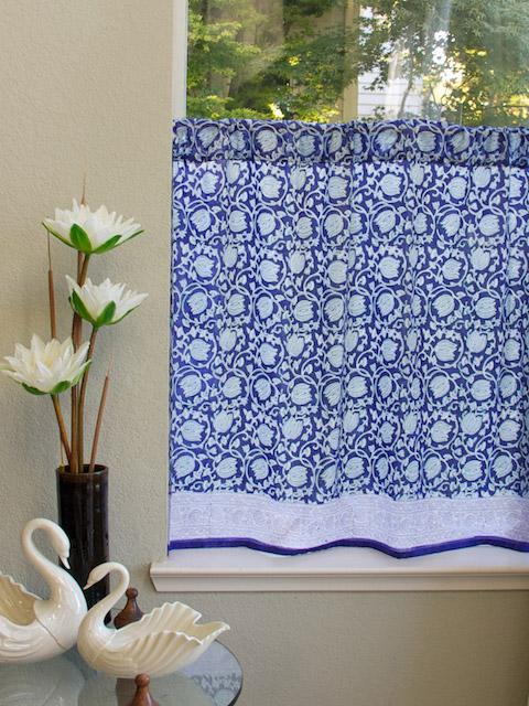 French+Blue+Kitchen+Curtains Kitchen Curtains, Cafe Curtains, Tiers ...