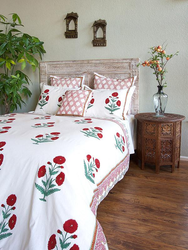 White Twin Duvet Cover Christmas Holiday Twin Duvet Cover Red