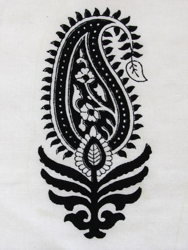 Modern Designer Black And White Paisley Throw Pillow Cushion Sha