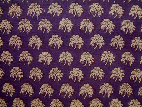 Purple Moon ~ Luxury Purple Gold Table Runner