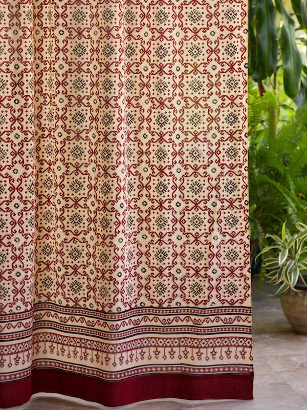 Bohemian curtains, Moroccan curtains, India curtains, Exotic curtains ...