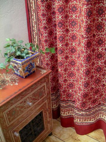 Luxury Shower Curtains Red Shower Curtains Kilim Shower