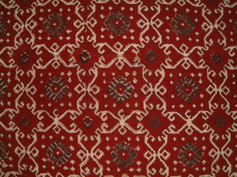 Red Black Duvet cover