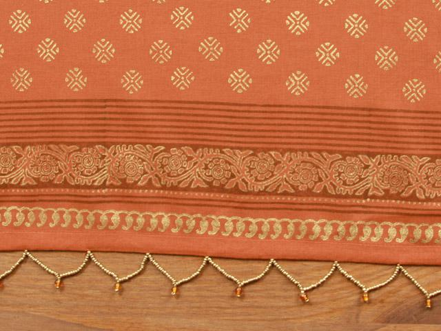 Rust Color Valance