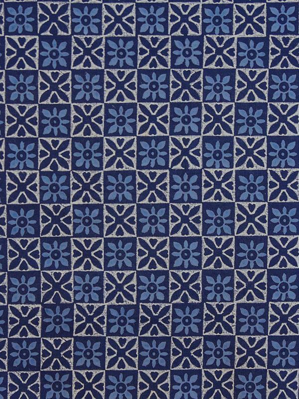 Batik Tablecloth Blue Tablecloth Designer Tablecloth