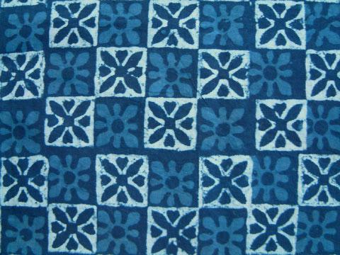 Curtains Ideas batik curtain panels : Blue Batik Contemporary Tab Top Sheer Cotton Curtain Panel