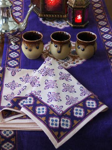 Exotic Holiday Table Napkins