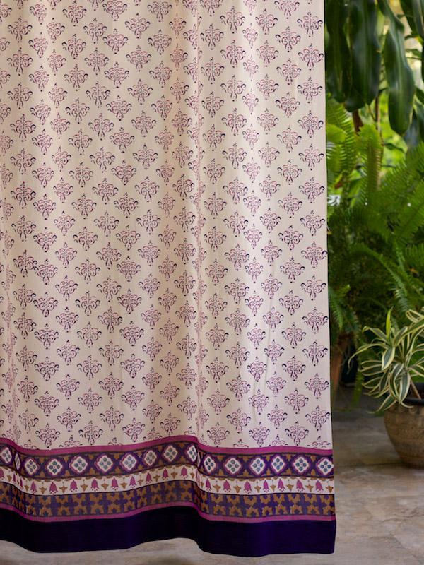 Red Curtains Moroccan: Orange moroccan print curtains. Orange moroccan ...