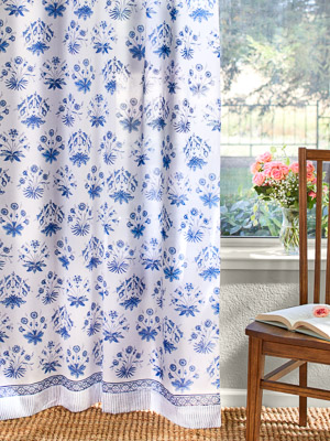 English Gardens ~ Sheer Curtain Panel