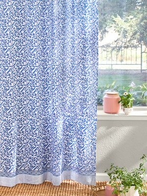 English Gardens (CP) ~ Sheer Curtain Panel